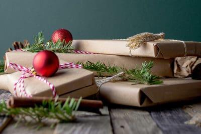 Indpakket julegave